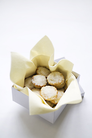 Box of mini mince pies